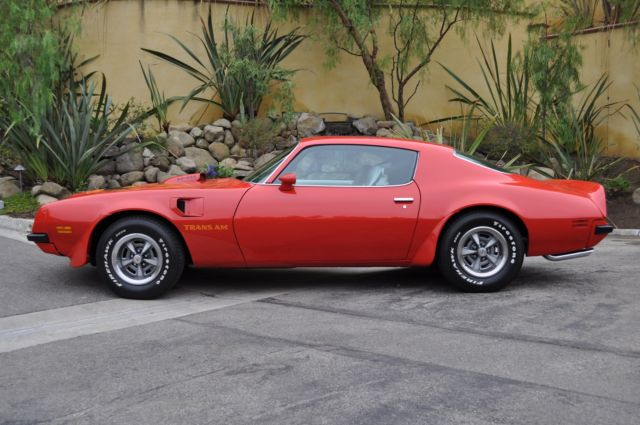 1974 Pontiac Firebird Trans Am Super Duty