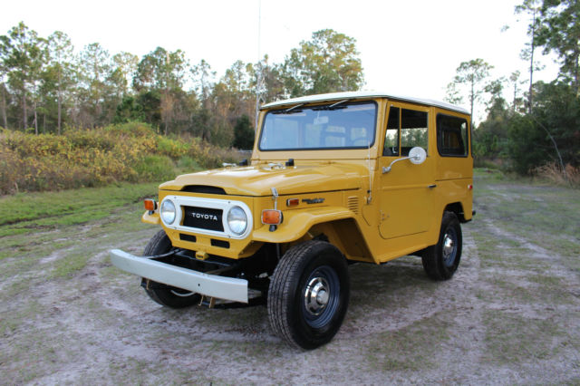 1974 Toyota Land Cruiser FJ40 F Restored Must See Call Now