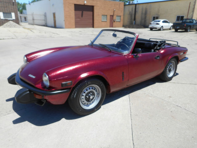 1974 Triumph Spitfire NO RESERVE AUCTION - LAST HIGHEST BIDDER WINS CAR!