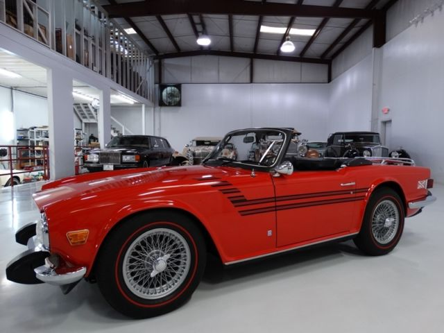 1974 Triumph TR-6 ONLY 24,945 ACTUAL MILES! ORIGINAL CONDITION!