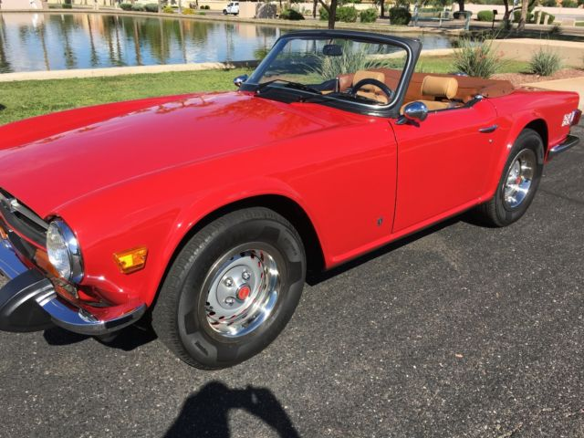 1974 Triumph Tr6 Restord In 2004 Many Mechanical Upgrades Good