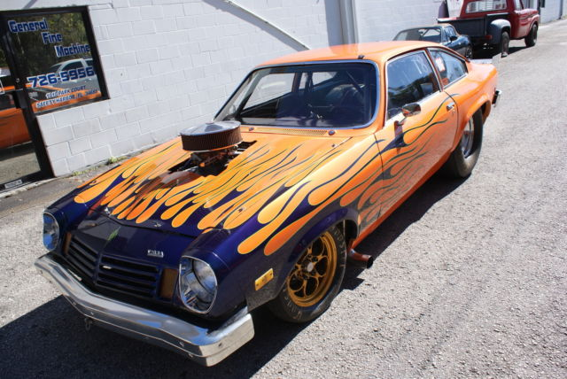 1974 Vega Chassis Drag Race Car Big Tire for sale: photos, technical