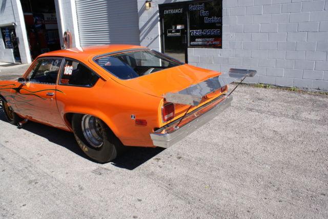 1974 Vega Chassis Drag Race Car Big Tire for sale: photos, technical