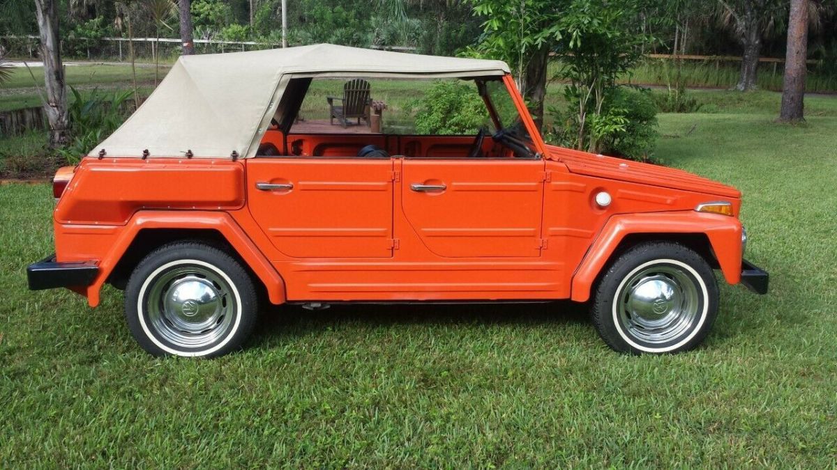 1974 Volkswagen Thing Fold down seats