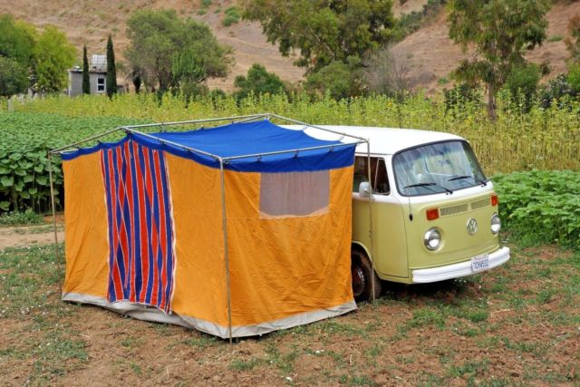 1974 Volkswagen Bus/Vanagon Westfalia Werke Edition Original Tent Included & 1974 Volkswagen Bus/Vanagon Westfalia Werke Edition Original Tent ...