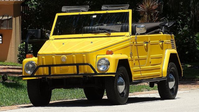 1974 Volkswagen Thing THING CRUISER