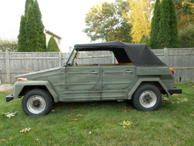 1974 Volkswagen Thing THING TYPE 181