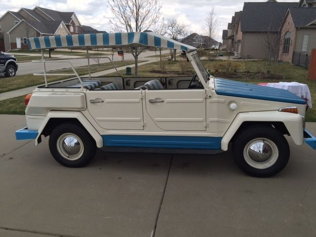 1974 Volkswagen Thing Type 181