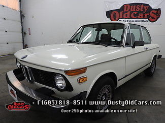 1974 BMW 2002 Runs Drives Body Interior Excel Cruise Now