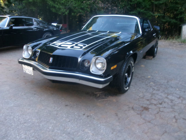 1974 Chevrolet Camaro # MATCHING REAL Z28 LT-1 350 MUNCI 4 SPEED POSI