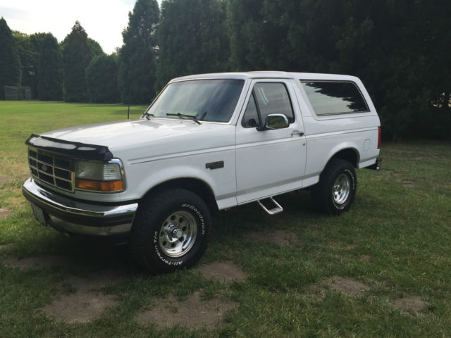 1993 Ford Bronco 1993 FORD BRONCO 4X4 XLT LOW MILES 97.K