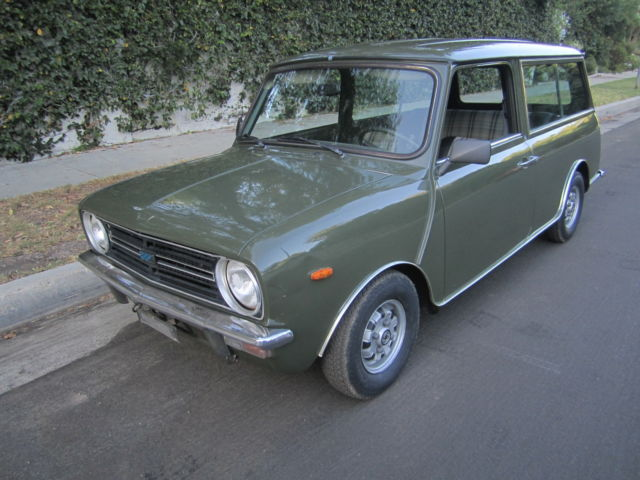 1975 Austin Mini Clubman Estate Left Hand Drive Excellent Original