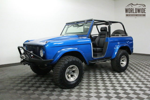 1975 Ford Bronco RESTORED. 5.0L FUEL INJECTION! PS.PB!