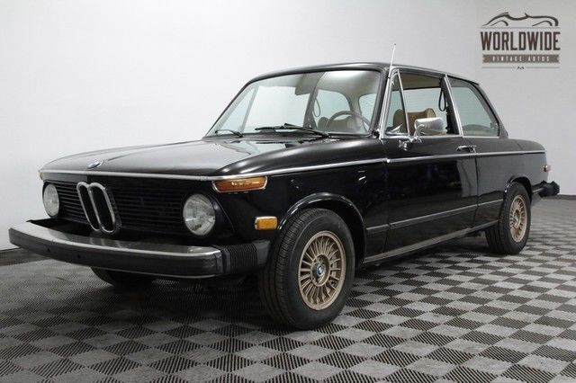 1975 BMW 2002 SERVICE HISTORY SINCE IMPORTED! AC. CLEAN!