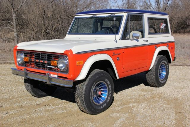 1975 Ford Bronco Stroppe Baja Bronco 302 V8 4WD Only 77 Made