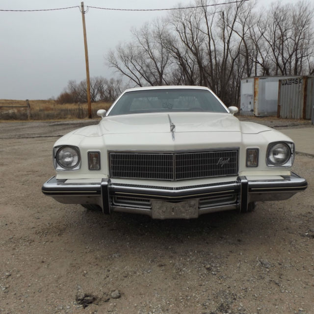 Buick Regal T Type For Sale: 1975 Buick Regal 1 Owner 58,000 Low Miles Drive Any Where