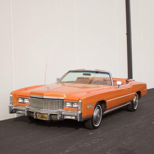 1975 Cadillac Eldorado Convertible, Mandarin Orange