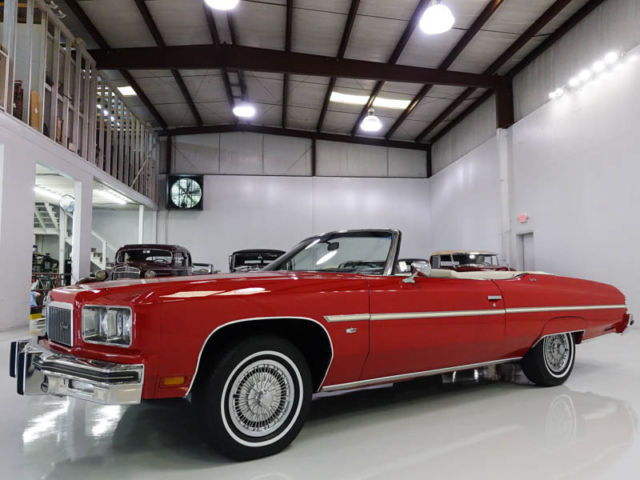 1975 Chevrolet Caprice Classic Convertible, ONLY 71,490 MILES!