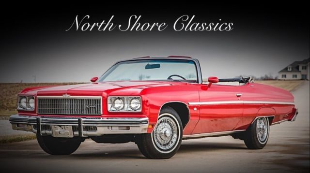 1975 Chevrolet Caprice -CONVERTIBLE - 1 OF 8349 - HIGHLY OPTIONED-SEE VID