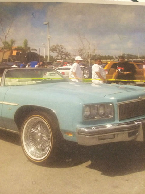1975 Chevrolet Caprice Convertible 2dr Donk  Rare Stock