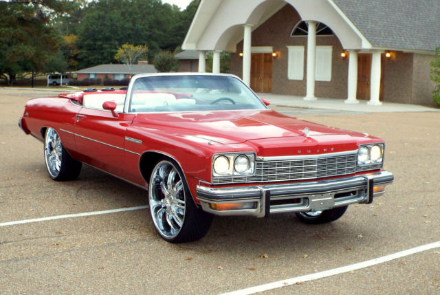 1975 Buick LeSabre CONVERTIBLE IMPALA CAPRICE WALK AROUND VIDEO
