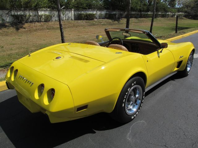 1975 Corvette Convertible * 4 Speed * Hardtop * Excellent * Florida