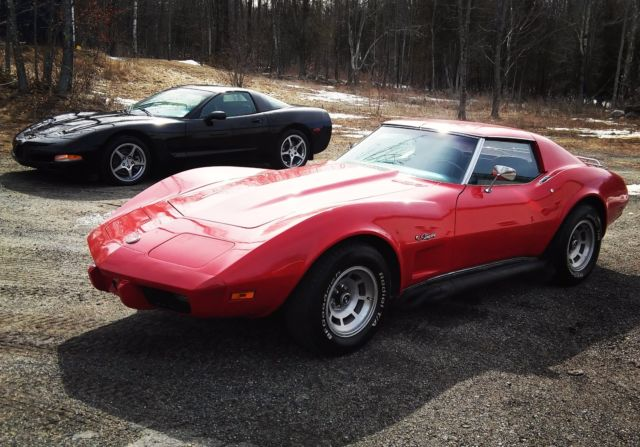 1975 Corvette Stingray Muscle Car Hot Rod C1 C2 C3 C4 C5 C6 C7 Zo7 Camaro Vette