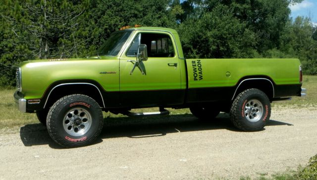 1975 dodge power wagon w200 for sale photos technical. Cars Review. Best American Auto & Cars Review