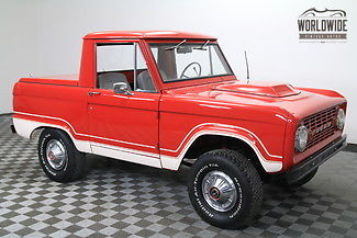1975 Ford Bronco Auto. PS. Uncut. Frame off Restored.