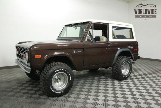 1975 Ford Bronco RESTORED 5.0L! FUEL INJECTION. AUTO. PS/PB!