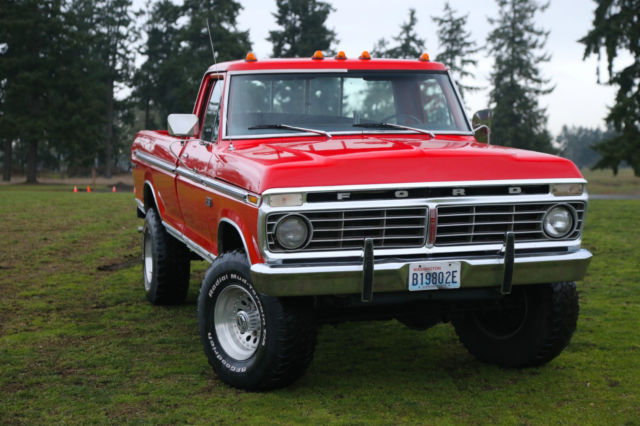 1975 ford f 250 xlt ranger 4x4 highboy showroom condition world wide no reserve for sale photos. Black Bedroom Furniture Sets. Home Design Ideas