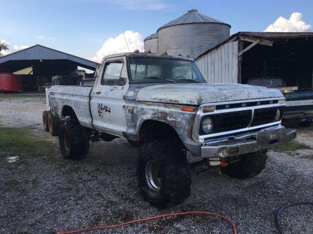 1975 Ford F100 4x4 Project Restore Shop Truck!NO RESERVE