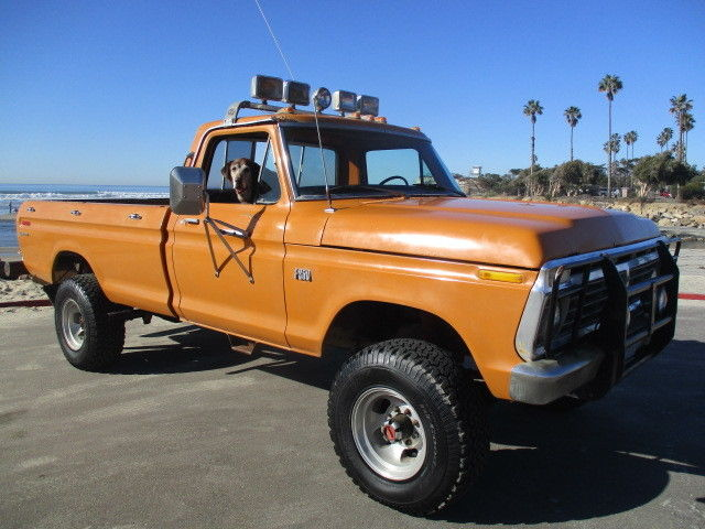 1975 ford f250 4x4 highboy solid 4wd california truck 4 spd ps spotlights for sale photos. Black Bedroom Furniture Sets. Home Design Ideas