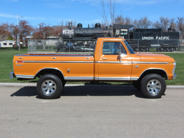 1975 ford f250 4x4 highboy solid one family owner truck. Black Bedroom Furniture Sets. Home Design Ideas