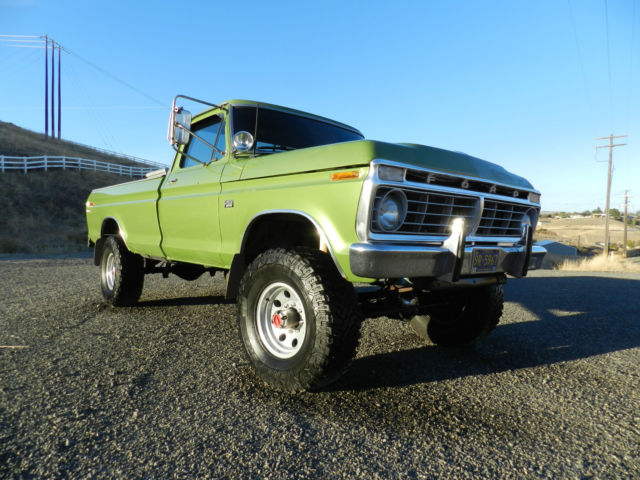 1975 ford f250 4x4 highboy very nice rare classic 50 pics video a must see for sale photos. Black Bedroom Furniture Sets. Home Design Ideas