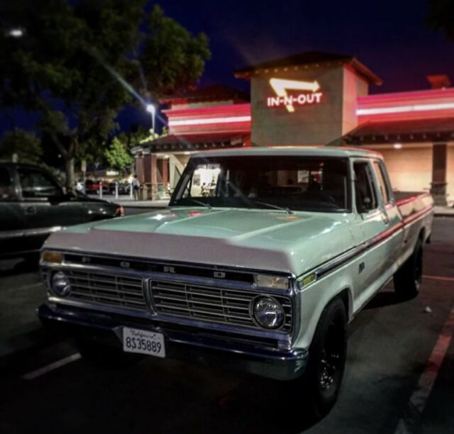1975 Ford F250 Long Bed Super Cab For Sale: Photos