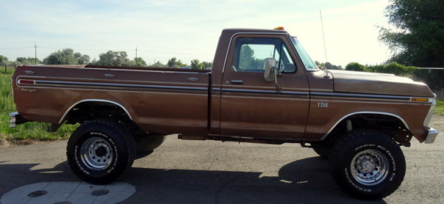 1975 ford f250 ranger highboy 4x4 true classic highboy for sale photos technical. Black Bedroom Furniture Sets. Home Design Ideas