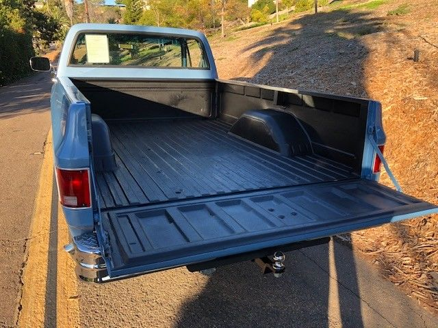 1975 Blue Chevrolet Other Pickups Standard Cab Pickup with Blue interior