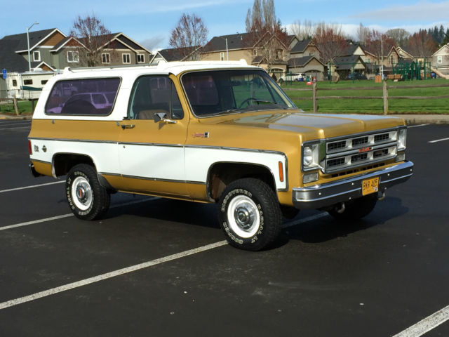 1975 GMC Jimmy GMC Jimmy, Chevy K5 Blazer, 4x4,Convertible,Bronco
