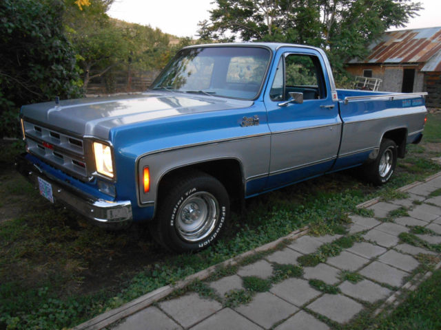 1975 GMC Sierra 1500 BEAU JAMES