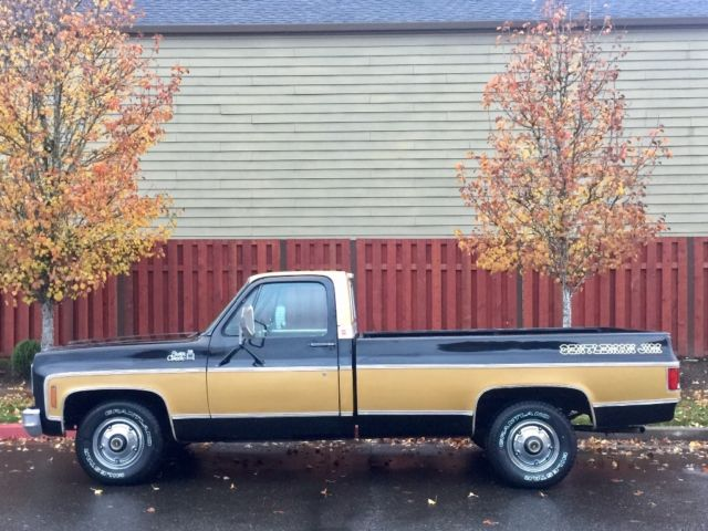 Cash For Cars Vancouver >> 1975 GMC SIERRA C-10 RARE GENTLEMAN JIM EDITION CHEVY ...