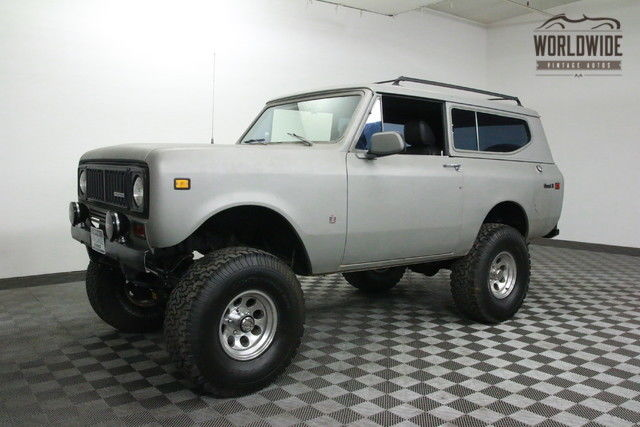 1975 International Harvester Scout V8 AUTO DISC. PS.PB!