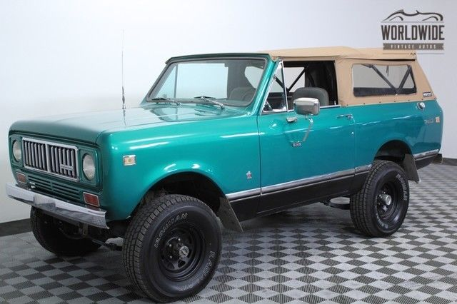 1975 International Harvester Scout Restored. Two Owner. AC! Rare.