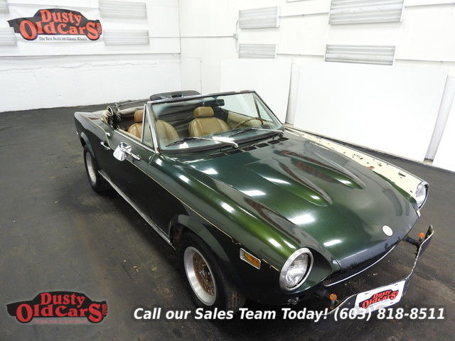 1975 Fiat 124 Runs Yard Drives Body Int Good 1.8L I4 5 spd