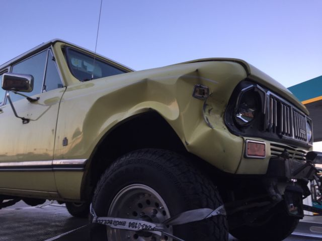 1975 International Harvester Scout