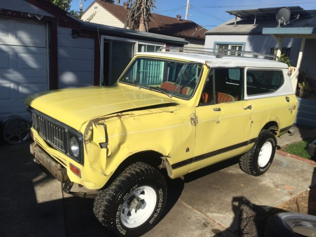 1975 International Harvester Scout SCOUTII XLC