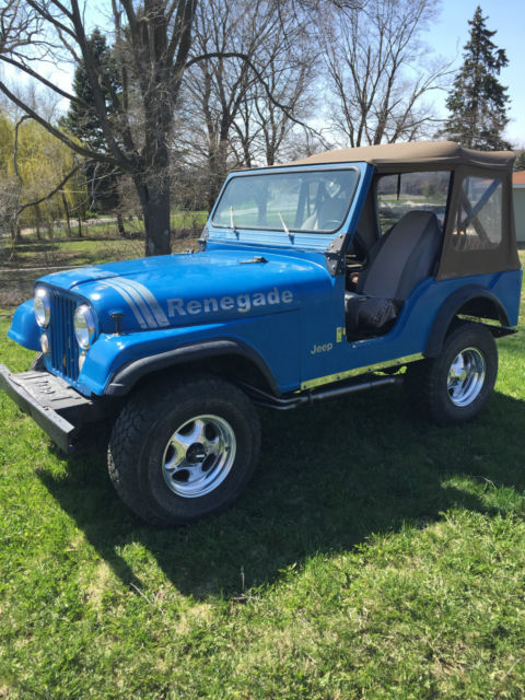 1975 Jeep CJ Renegade