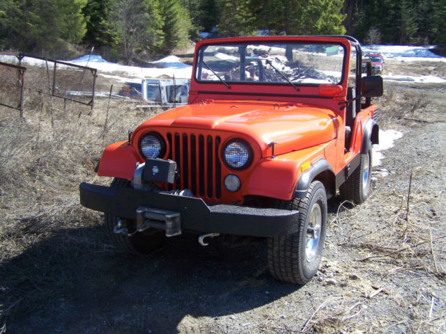 1975 Jeep CJ custom