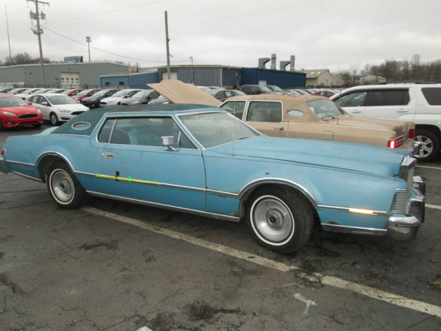 1975 Lincoln Continental Mark Iv Only 59573 Miles On