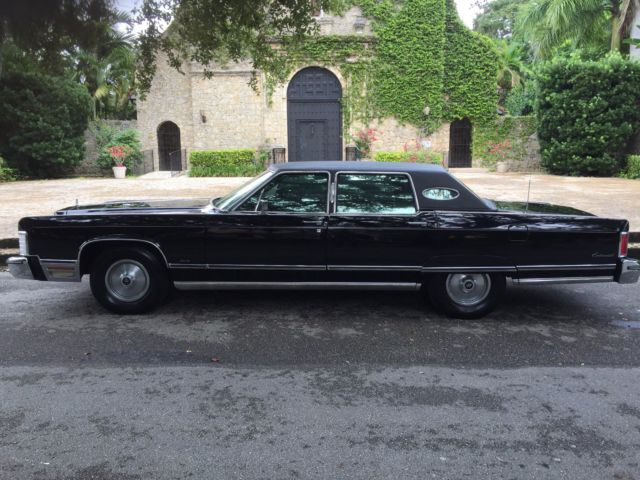 1975 Lincoln Continental Town Car Triple Black For Sale Photos